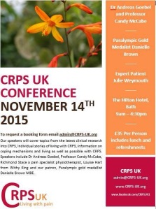 CRPS UK Conference 2015