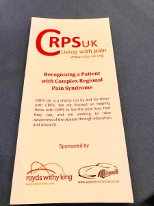 CRPS UK Leaflet