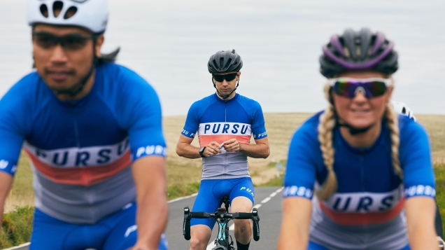 Pursu nutrition bars cycling